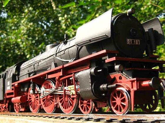 airgoon - Lokomotive BR 01
