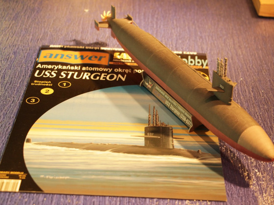 SY 190 - USS Sturgeon