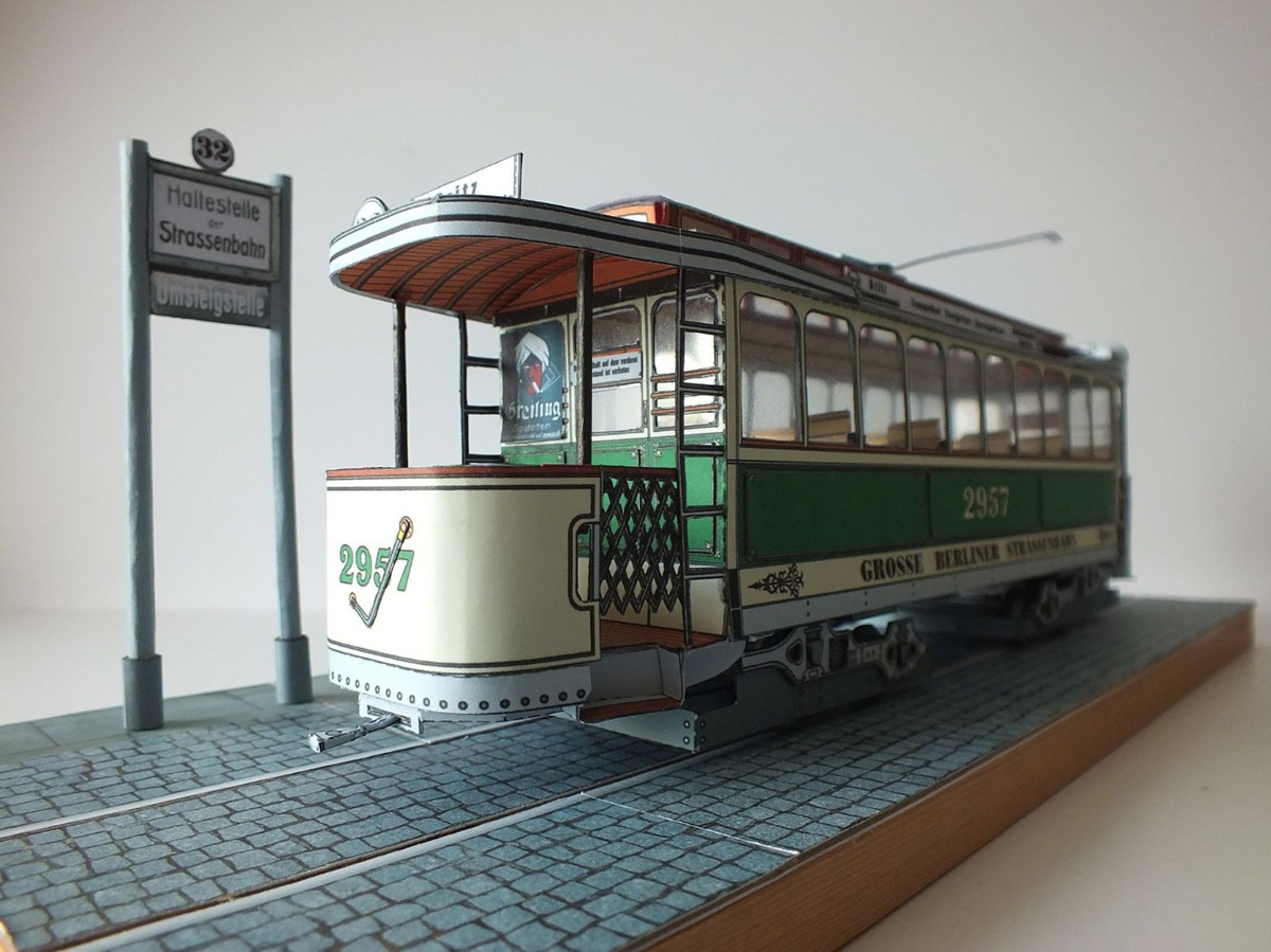 Michael K. - Berliner Straßenbahn 1905