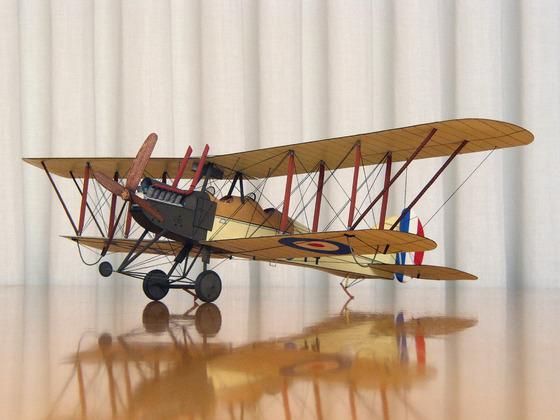 Ricleite - Royal Aircraft Factory R.E.7